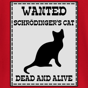 Wanted Schrödinger's Cat - Dead And Alive Tee shirts - T-shirt manches longues Bébé