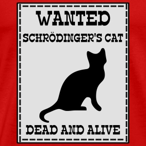 Wanted Schrödinger's Cat - Dead And Alive Manches longues - T-shirt Premium Homme