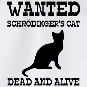 Wanted Schrödinger's Cat - Dead And Alive Flaschen & Tassen - Turnbeutel