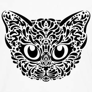Cat Illustration T-Shirts - Men's Premium Longsleeve Shirt
