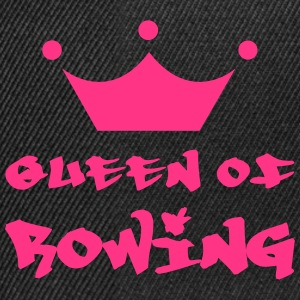 Queen of Rowing Shirts - Snapback Cap