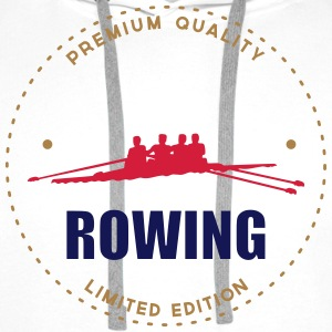 Rowing T-Shirts - Men's Premium Hoodie