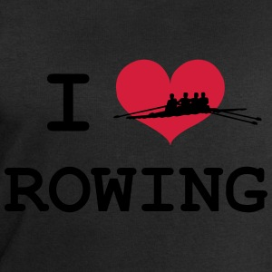 I Love Rowing T-Shirts - Men's Sweatshirt by Stanley & Stella