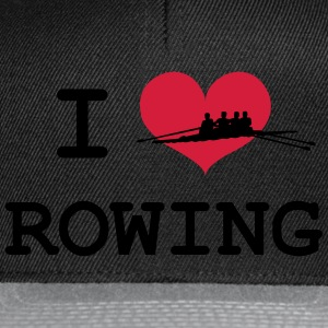 I Love Rowing T-Shirts - Snapback Cap