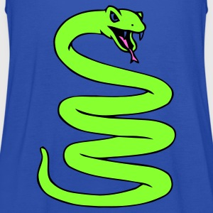 Coiled Snake - Women's Tank Top by Bella