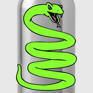 Coiled Snake - Water Bottle