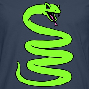 Coiled Snake - Men's Premium Longsleeve Shirt