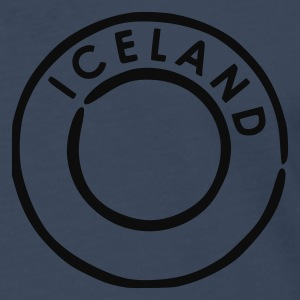 Royal blue Iceland Men's Tees (short-sleeved) - Men's Premium Longsleeve Shirt