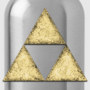 Stone, triangle, geometric shape T-Shirts - Water Bottle