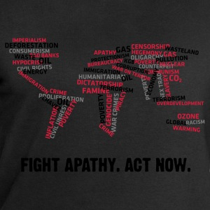 Fight Apathy, Act Now (v1, 3c, MPes) - Sudadera hombre de Stanley & Stella