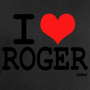 Noir i love roger by wam ( tribute to federer ) T-shirts - Sweat-shirt Homme Stanley & Stella