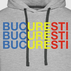 :: BUCURESTI :: T-Shirts - Men's Premium Hoodie