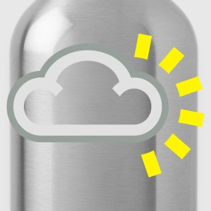 Every cloud has a Silver Lining - Water Bottle
