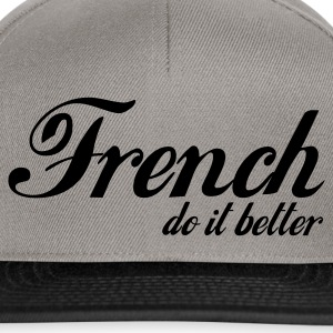 Gris chiné french do it better T-shirts - Casquette snapback