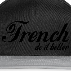 Noir french do it better T-shirts - Casquette snapback