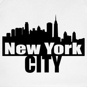 Blanc nyc NEW YORK CITY T-shirts - Casquette classique