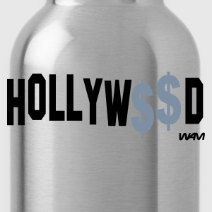 Svart hollywood money by wam T-shirts - Vattenflaska