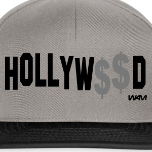 Gris salpicado hollywood money by wam Camisetas - Gorra Snapback