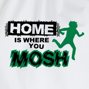 Home is where you mosh Langarmshirts - Turnbeutel