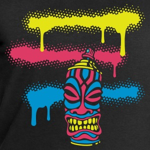SPRAY TIKI STRIPES (N1 UK) by toneyshirts - Men's Sweatshirt by Stanley & Stella