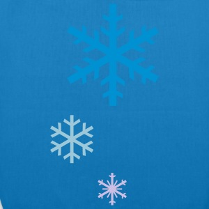 Snowflakes - EarthPositive Tote Bag