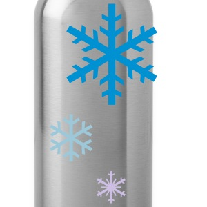 Snowflakes - Water Bottle