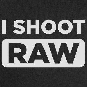 I SHOOT RAW Men Black - Männer Sweatshirt von Stanley & Stella