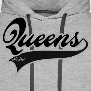 queens new york T-shirts - Premiumluvtröja herr