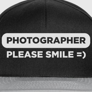 Photographer – Please Smile - Snapback Cap