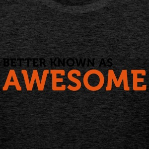 Better known as Awesome (2c) T-shirts - Débardeur Premium Homme