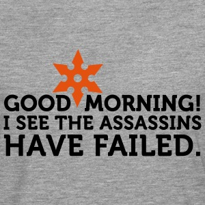 I See The Assassins Have Failed 2 (2c) T-shirts - Mannen Premium shirt met lange mouwen