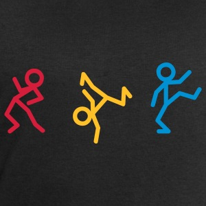 Dancing stick figure T-shirts - Sweat-shirt Homme Stanley & Stella