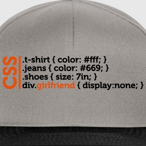 Css Clothes Girlfriend (2c)++ T-skjorter - Snapback-caps