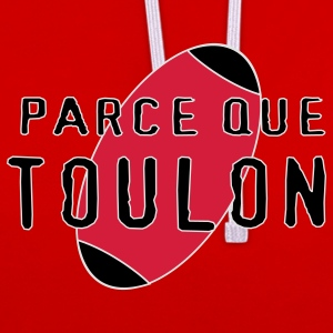 Parce que Toulon - Sweat-shirt contraste