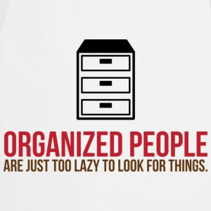 Organized People 2 (dd)++ Camisetas - Delantal de cocina