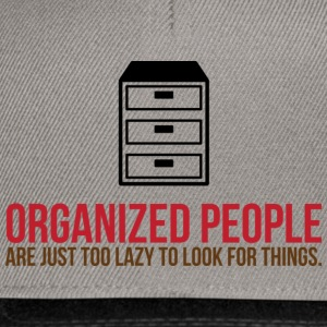 Organized People 2 (dd)++ Camisetas - Gorra Snapback
