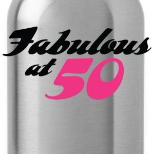 Fabulous At 50 (dd) Camisetas - Cantimplora