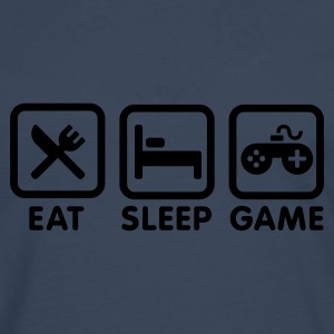 EAT SLEEP GAME Tee shirts - T-shirt manches longues Premium Homme