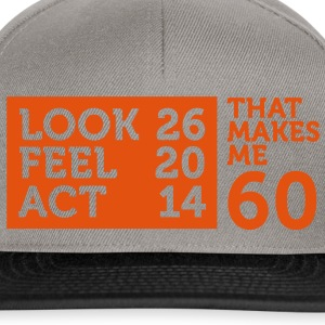 Look Feel Act 60 2 (1c)++ T-shirt - Snapback Cap