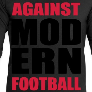 Against modern football 5 - Mannen sweatshirt van Stanley & Stella