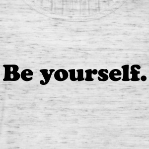 be yourself Camisetas - Camiseta de tirantes mujer, de Bella