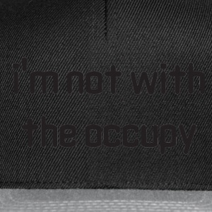 Occupy T-shirts - Snapback cap