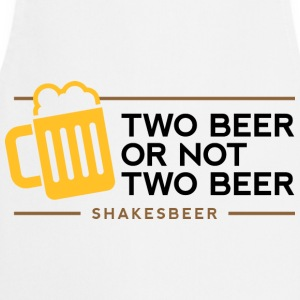 Two Beer Shakesbeer 1 (dd)++ Tee shirts - Tablier de cuisine