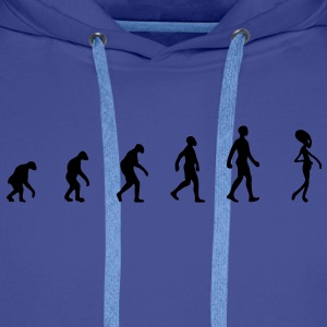 alien evolution T-Shirts - Men's Premium Hoodie