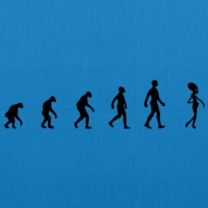 alien evolution T-Shirts - Bio-Stoffbeutel