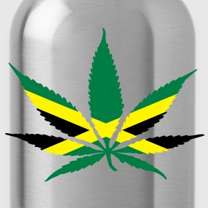 cannabis jamaica flag T-shirt - Borraccia