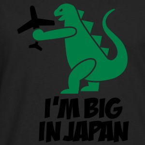I'm big in Japan - Godzilla T-Shirts - Men's Premium Longsleeve Shirt
