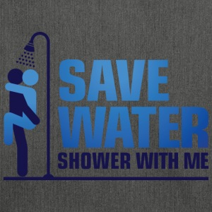 Save Water 2 (dd)++ T-Shirts - Schultertasche aus Recycling-Material