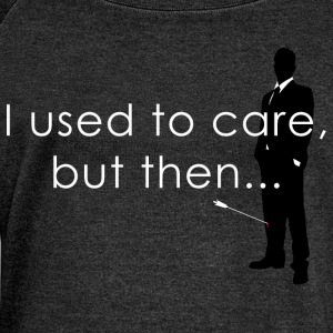 I Used To Care... T-Shirts - Women's Boat Neck Long Sleeve Top