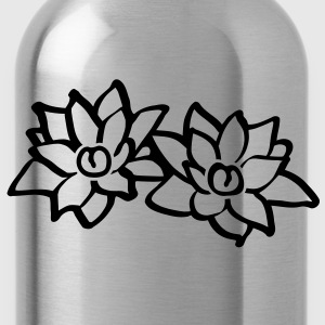 Lotus Flowers T-Shirts - Trinkflasche